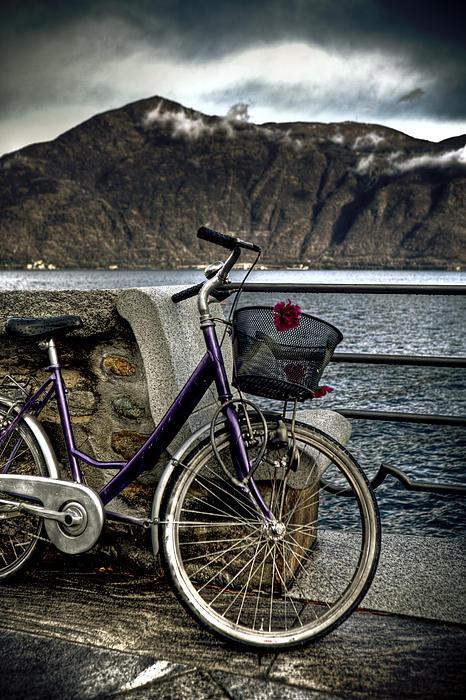 Retro Bike Print by Joana Kruse