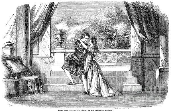 Romeo & Juliet Print by Granger