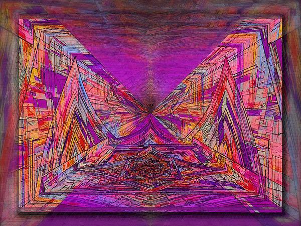 Rumblings Within Print by Tim Allen