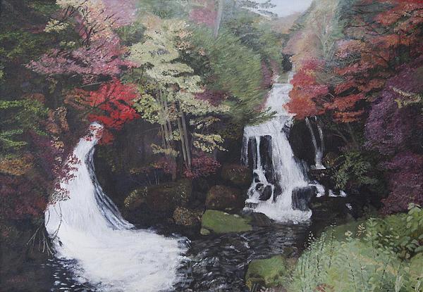 Masami Iida - Ryuzu Waterfall