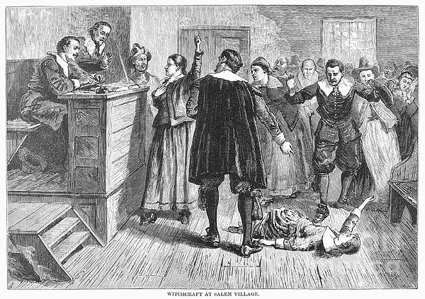 Salem Witch Trials, 1692 Print by Granger