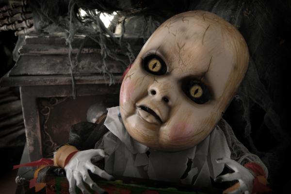 Scary Doll Print by Craig Incardone