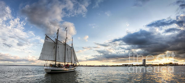 Dustin K Ryan - Schooner Pride Sunset Charleston SC