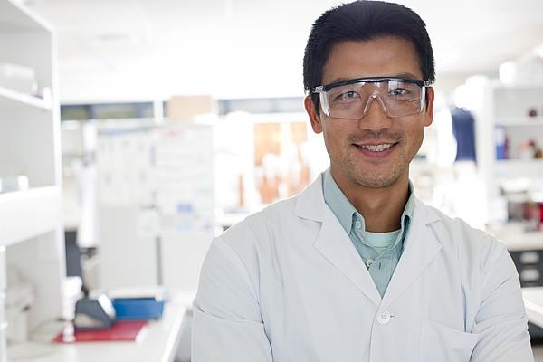 Scientist Print by