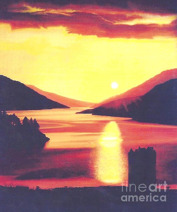 Leslie Bell - Scottish Sunset