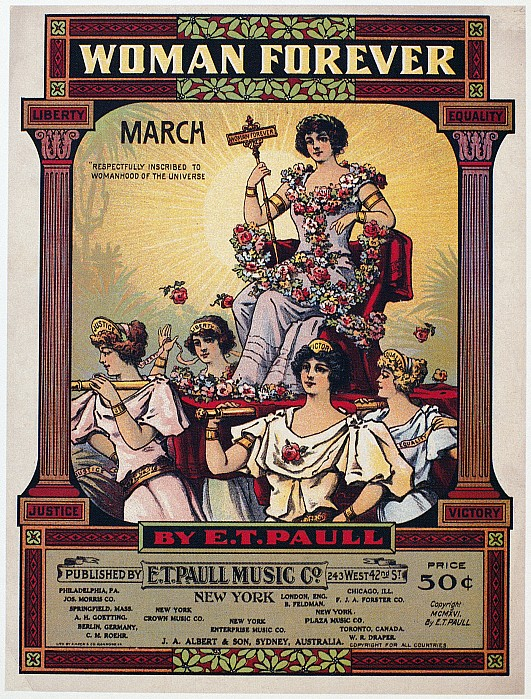 Sheet Music Cover, 1916 Print by Granger