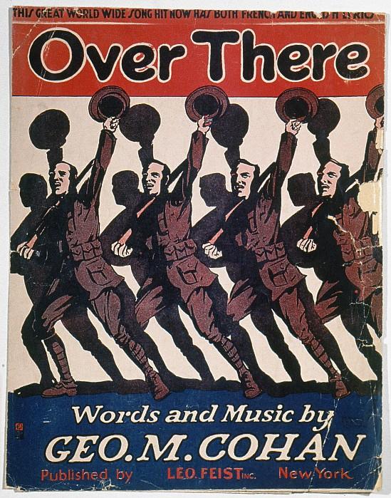Sheet Music Cover, 1917 Print by Granger