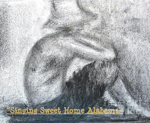 Singing Sweet Home Alabama Print by Helena Bebirian