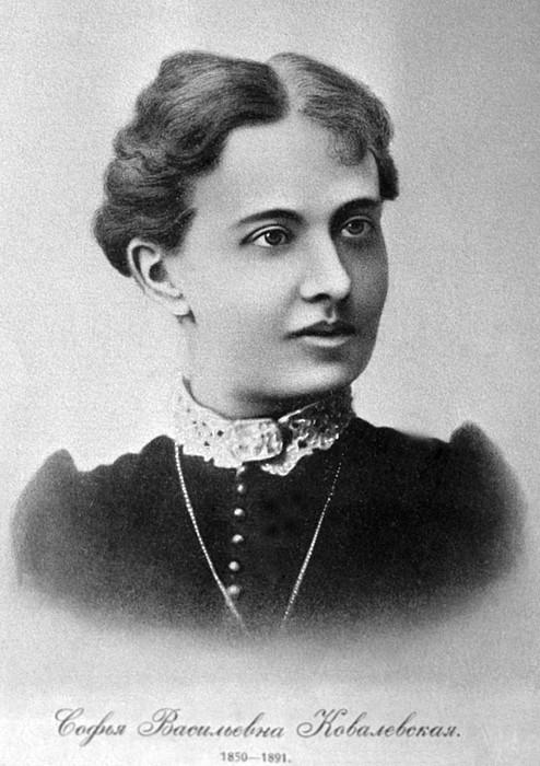 Sofia kovalevskaya russian mathematician print by ria novosti