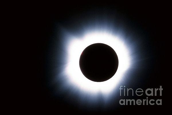 Solar Eclipse Print by Stocktrek Images
