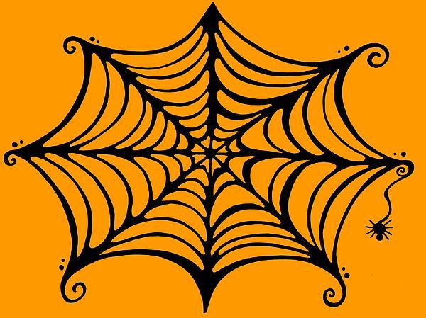 Spider's Web Print by Mandy Shupp