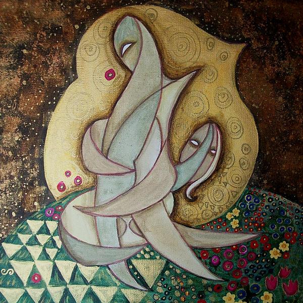 Spirit Lovers Print by Carola Joyce
