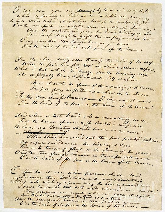 Star Spangled Banner 1814 Print by Granger