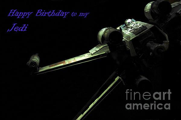 Star Wars Card Print by Micah May