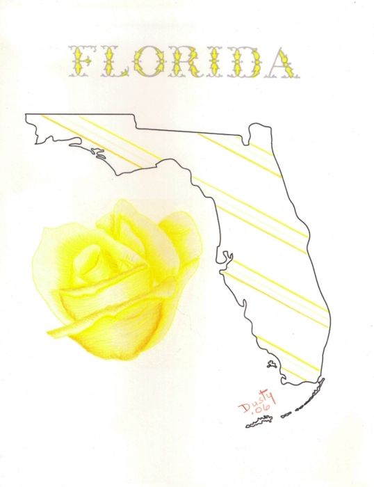 How To Draw Florida