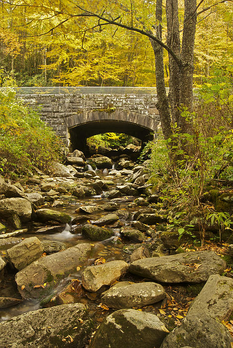 Stone Bridge 6063 Print by Michael Peychich
