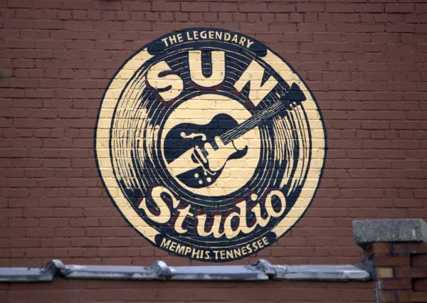 Sun Studio Memphis Tennessee Print by Wayne Higgs