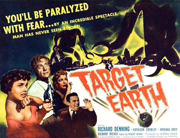 Target Earth, From Left Kathleen Print by Everett