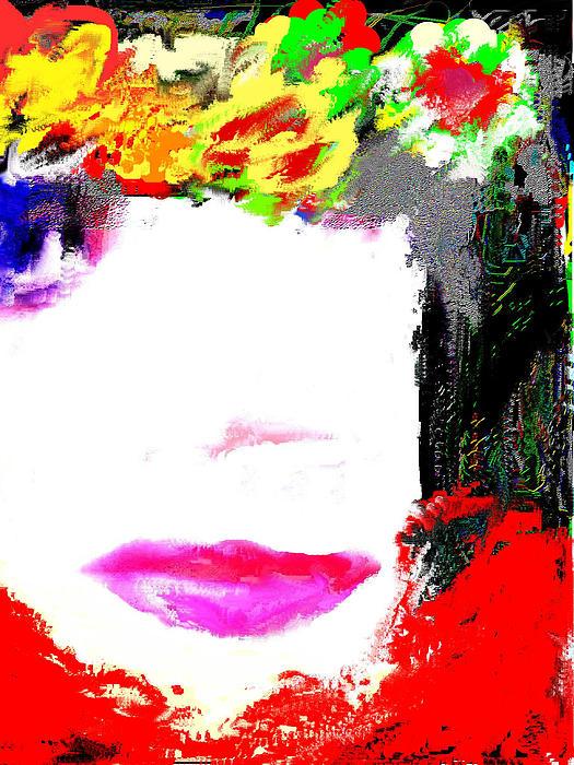 That Girl Print by Ruth Clotworthy