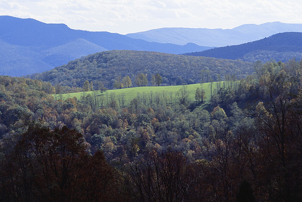 The Allegheny Front, North Fork Print by Raymond Gehman