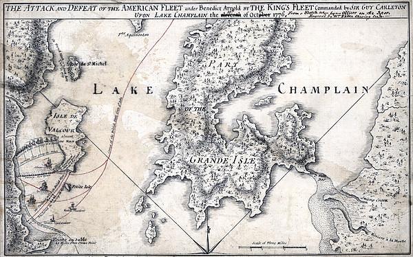 The American Revolution. The Battle Print by Everett