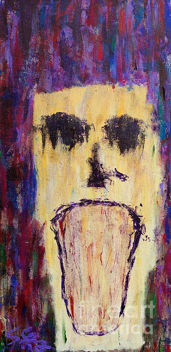 The Anguish That Befalls Me Print by Scott Gearheart