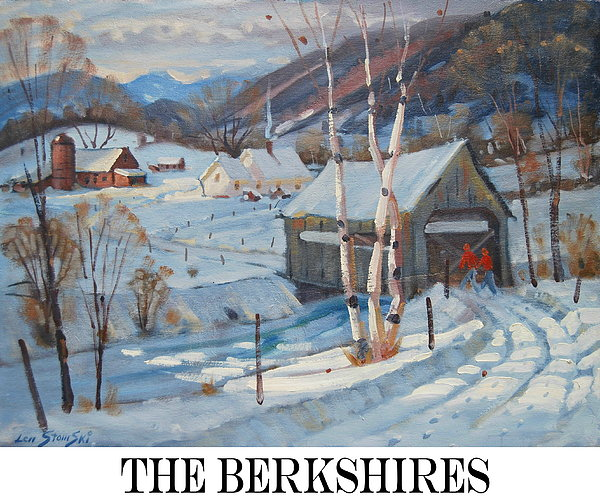 the Berkshires Print by Len Stomski