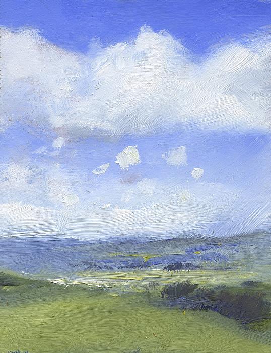 The Distance Print by Alan Daysh