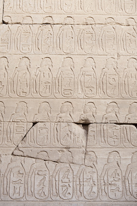 The Figures Of Prisoners On A Temple Print by Taylor S. Kennedy