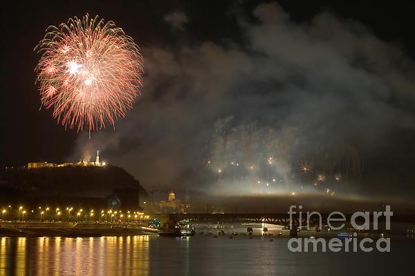 The Firework Print by Odon Czintos