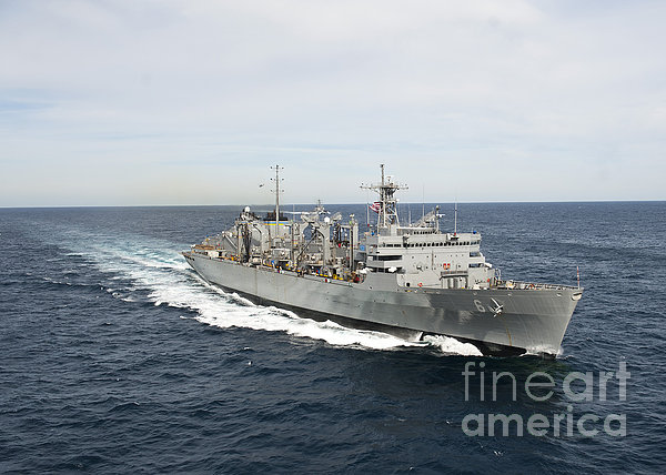 The Military Sealift Command Fast Print by Stocktrek Images