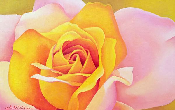The Rose Print by Myung-Bo Sim