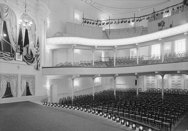 Theaters, Fords Theater, Site Print by Everett