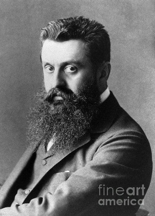 Theodor Herzl (1860-1904) Print by Granger
