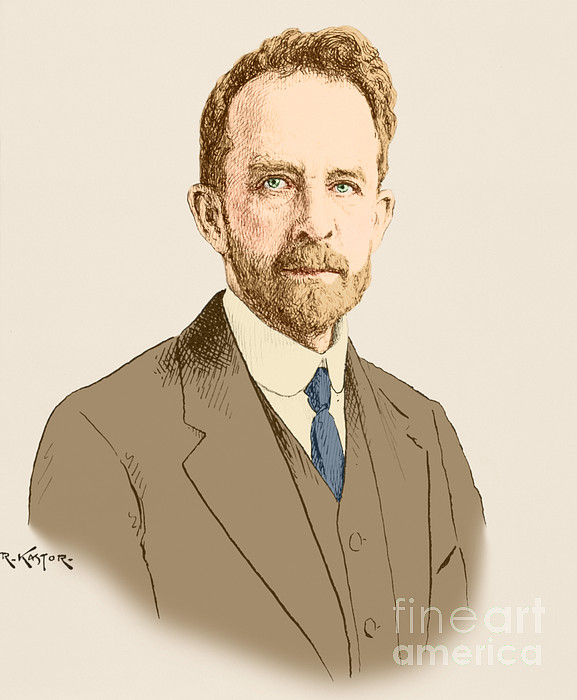 Thomas Hunt Morgan, American Geneticist Print by Science Source