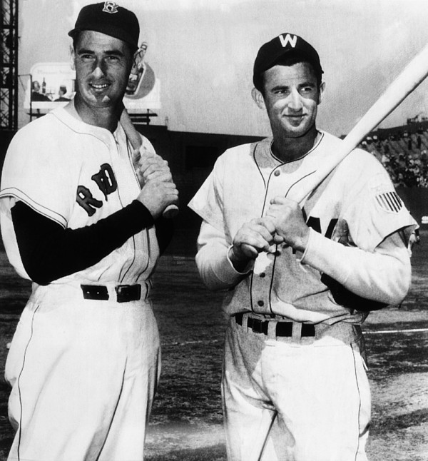 Top Sluggers. Ted Williams Print by Everett
