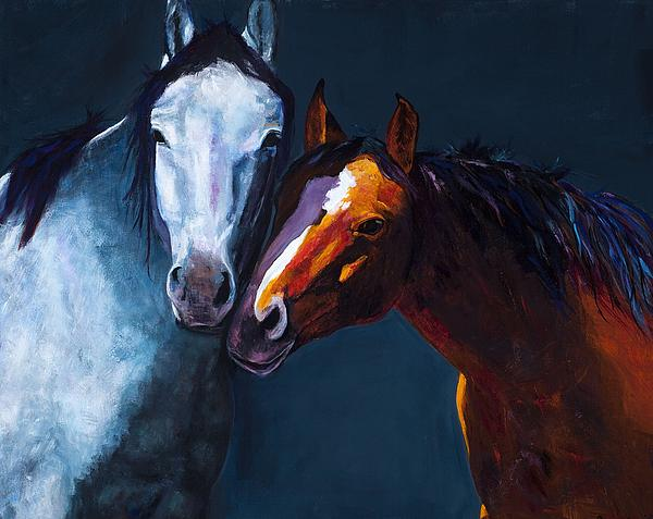 Unbridled Love Print by Frances Marino