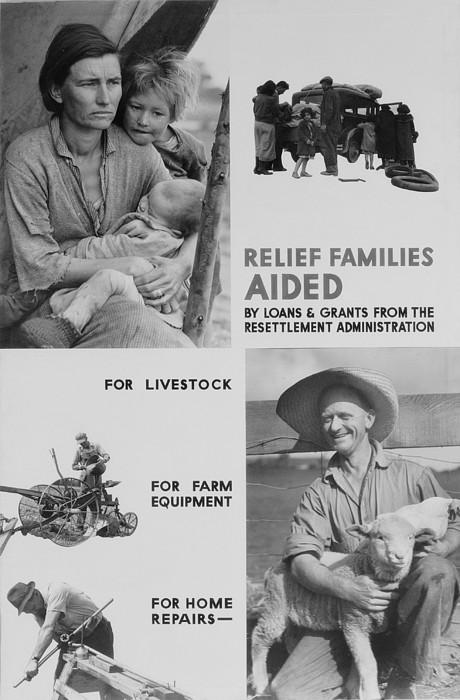 United States Resettlement Print by Everett