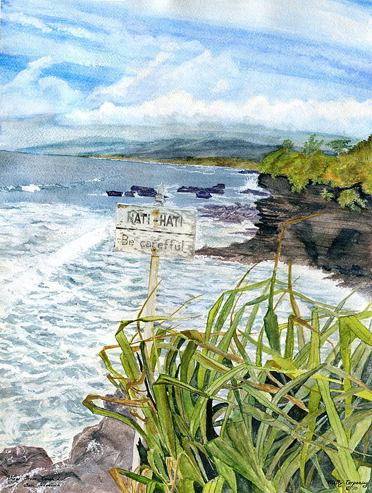 Melly Terpening - View From Tanah Lot Bali Indonesia