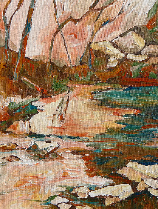 West Fork Print by Sandy Tracey