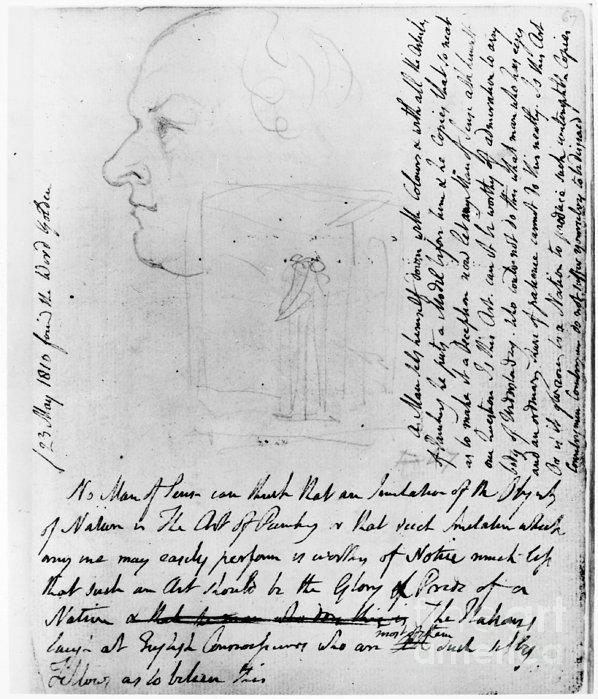 William Blake (1757-1827) Print by Granger