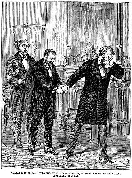 William Worth Belknap Print by Granger
