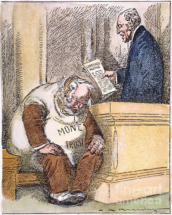 Wilson Cartoon, 1913 Print by Granger