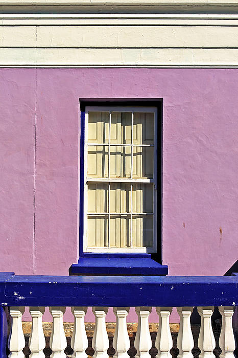 Windows Of Bo-kaap Print by Benjamin Matthijs
