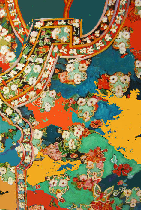 Woman's Robe Print by Linda Arthurs