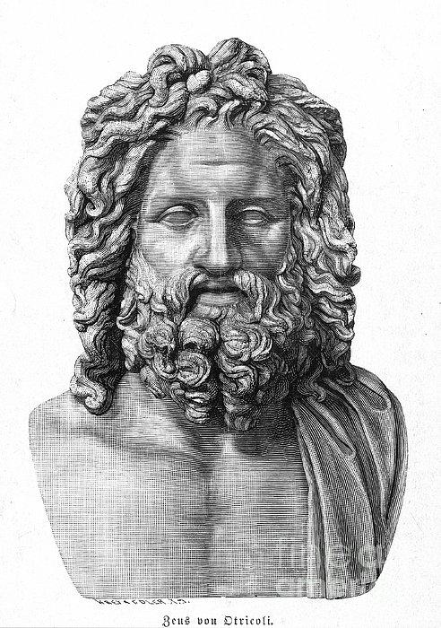 Zeus Print by Granger