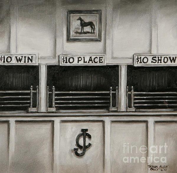 10 Across The Board Print by Thomas Allen Pauly