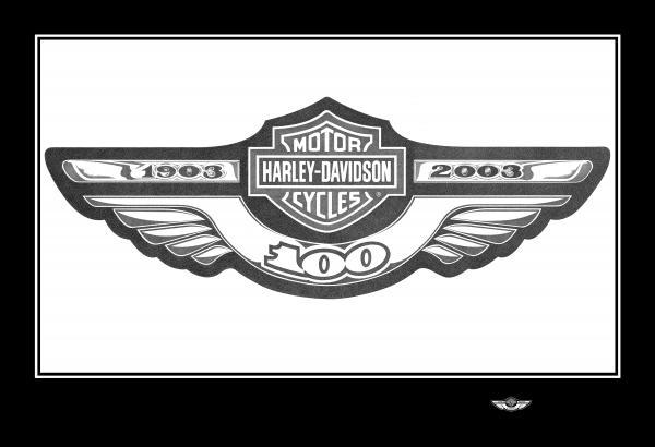 100th anniversary logo drawing