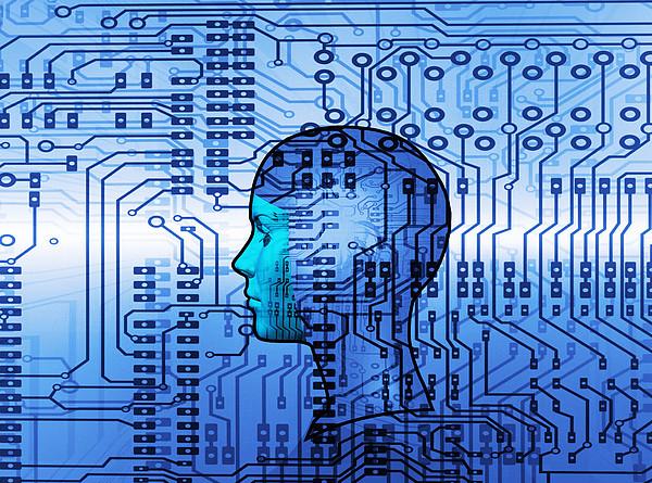 Artificial Intelligence Print by Mehau Kulyk