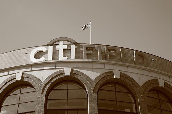 Citi Field - New York Mets Print by Frank Romeo